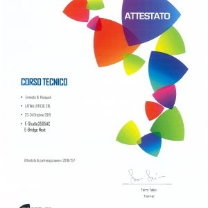 Certificazione Toshiba e-Studio3515