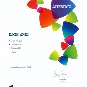 Certificazione Toshiba eFollow