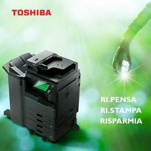 Multifunzione ibride Toshiba Stampa cancella ristampa